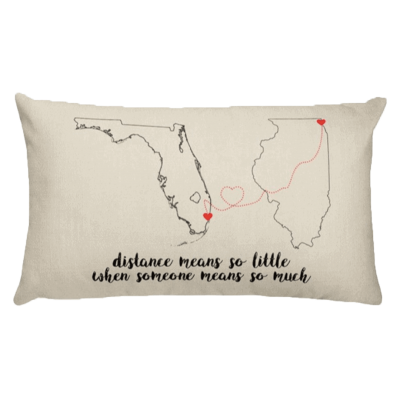 Distance couples for long pillows The 5